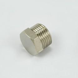 Тапа с никелирано матирано покритие