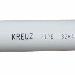 ППР тръба PN20 със стъклофибърна вложка