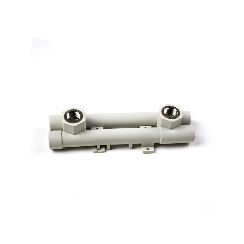 Комплект смесител за батерия от полипропилен за стена