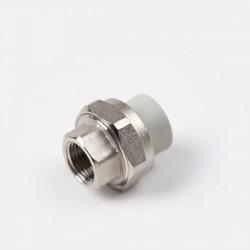 PPR холендрова връзка с вътрешна резба разглобяема