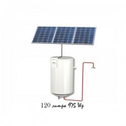Фотоволтаичен бойлер за подгряване на вода 120L