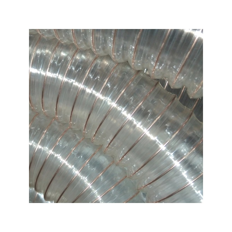 Полиуретанов шлаух за пелетна горелка Ф63 - 70 см