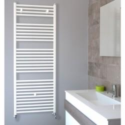 Лира за баня стоманена бяла H500