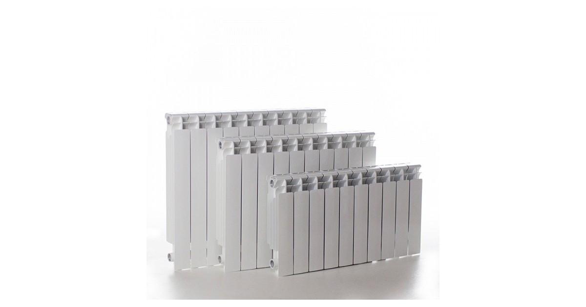 Алуминиев радиатор на глидери H600