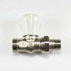 Радиаторен кран прав за адаптор Herz G 3/4 x 1/2