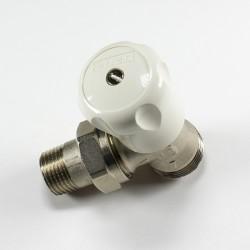Радиаторен кран ъглов за адаптор Herz G 3/4 x 1/2