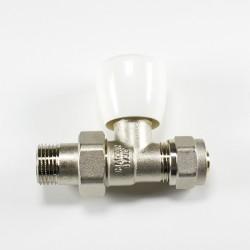 Радиаторен прав вентил с адаптор Fornara 1/2 x Ф16