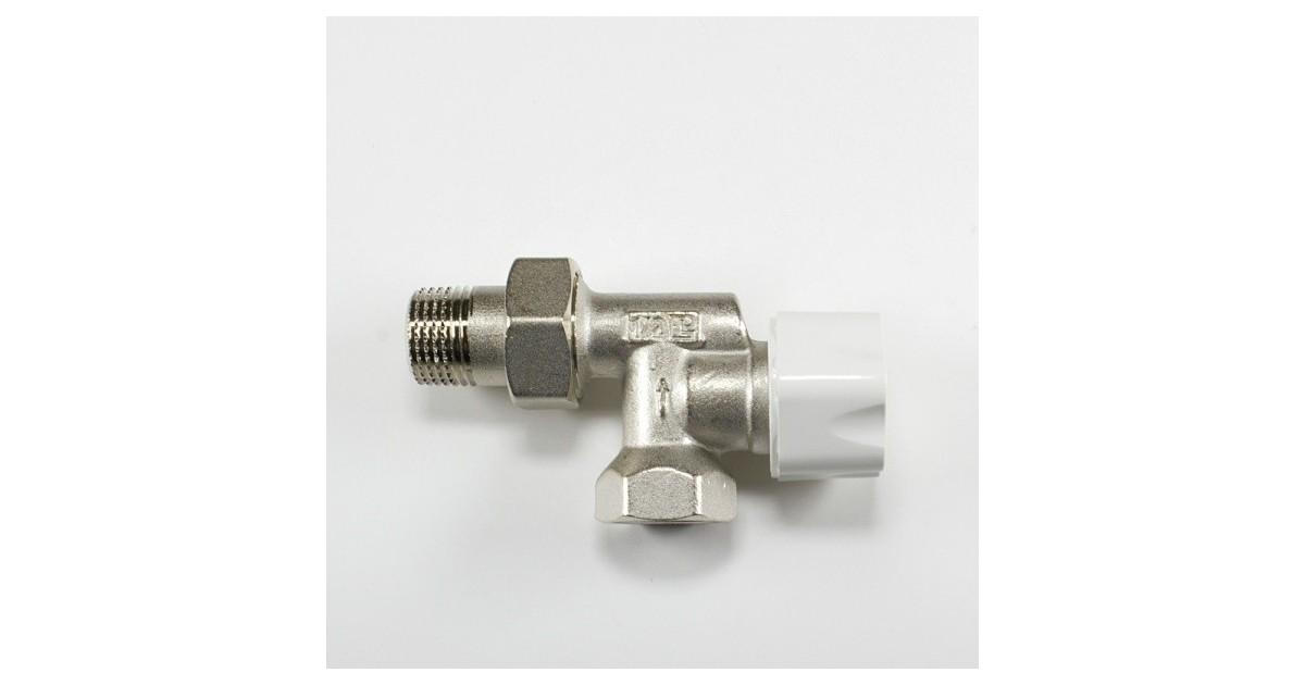 Радиаторен вентил ъглов аксиален за терморегулатор M322 Luxor 1/2