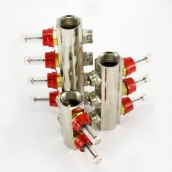 Профилен колектор с дебитомери 1 цол М 24x19