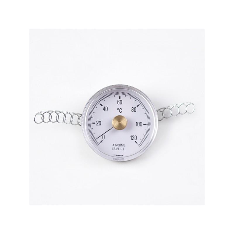 Контактен термометър с метален корпус