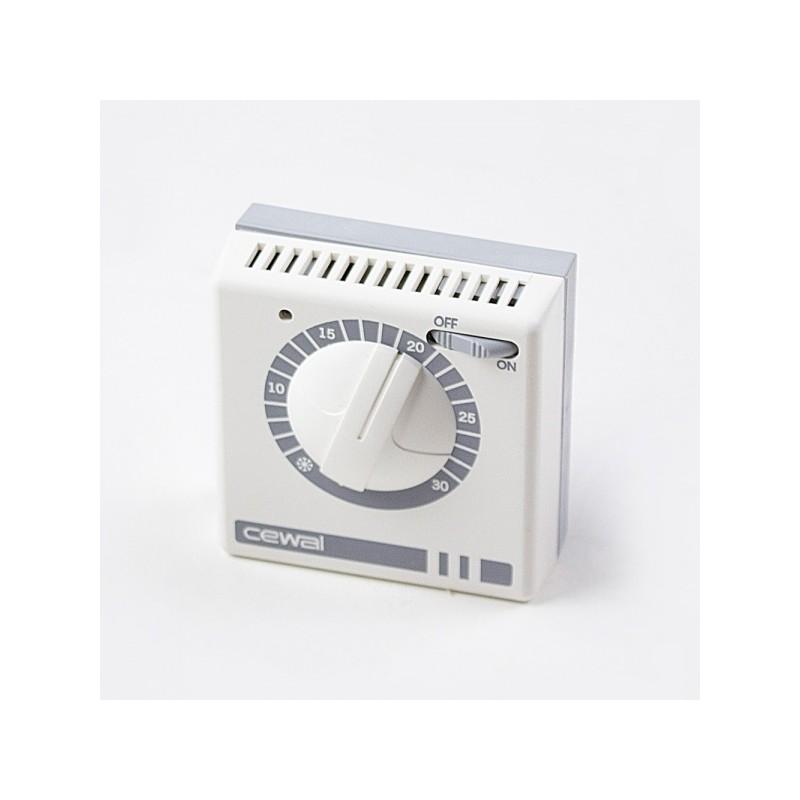 Стаен термостат жичен до 30 градуса