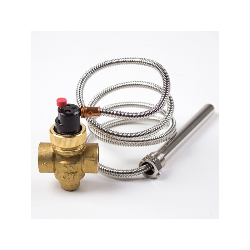 Предпазен клапан по температура с изнесен датчик