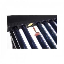 Вакуум тръбен слънчев колектор сух с 12 тръби