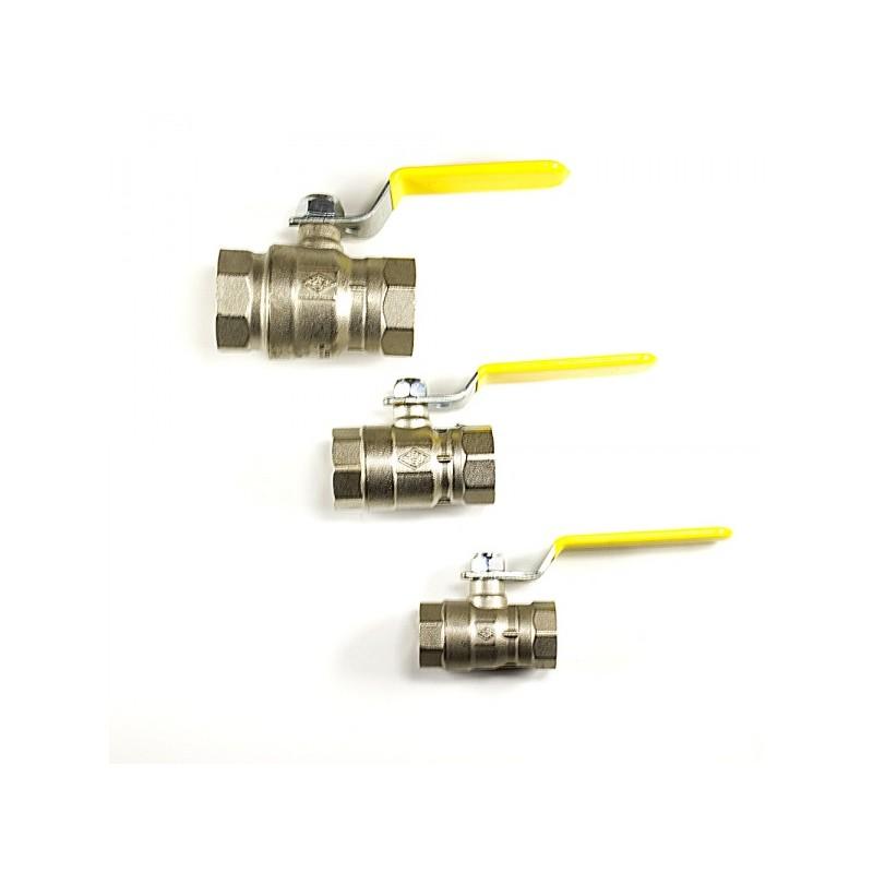 Сферичен кран за газови инсталации